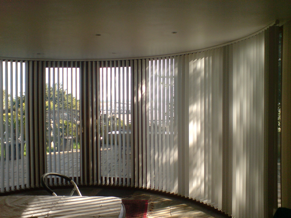 bend it curved headrail vertical blinds for bay amp bow 14 best images about bay amp bow window treatments on