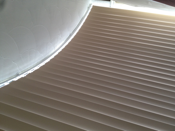 Bend It Curved Headrail Vertical Blinds For Bay Bow
